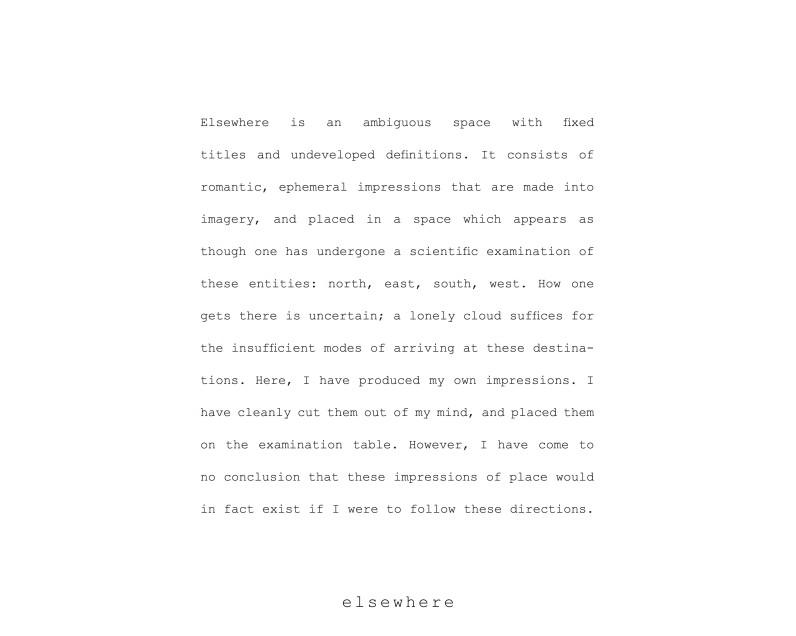 artist statement